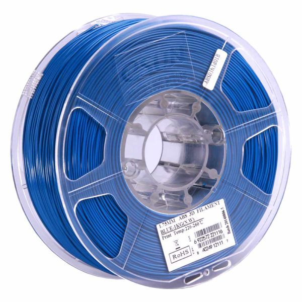 eSUN ABS Filament Blå - 3 mm - 1 kg