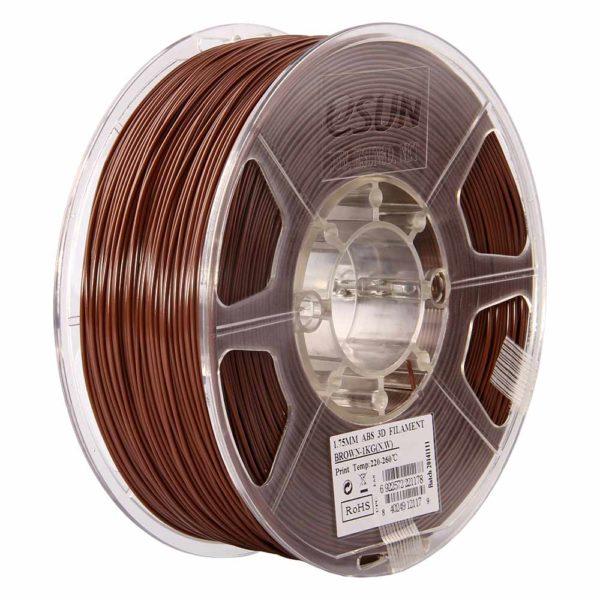 eSUN ABS Filament Brun - 3 mm - 1 kg
