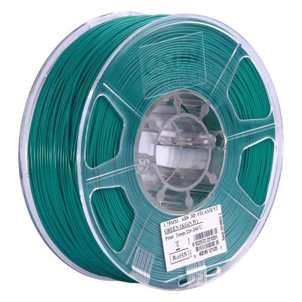 eSUN ABS Filament Grön - 3 mm - 1 kg