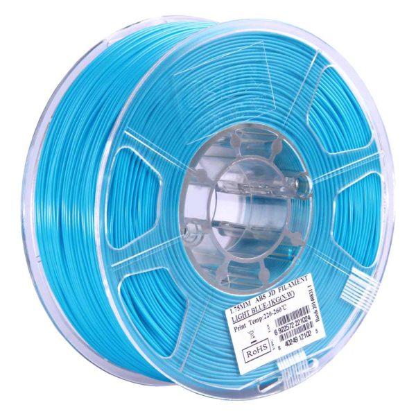 eSUN ABS Filament Ljusblå - 3 mm - 1 kg