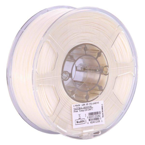 eSUN ABS Filament Naturell - 3 mm - 1 kg