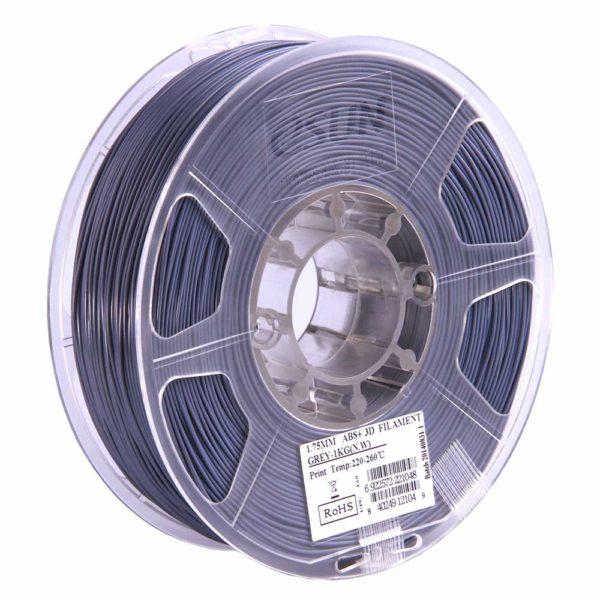 eSUN ABS+ Filament Grå - 2,85 mm - 1 kg