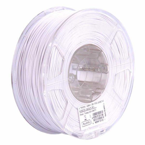 eSUN ABS+ Filament Vit - 3 mm - 1 kg