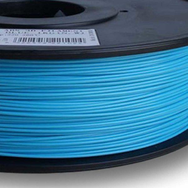 eSUN HIPS Filament Ljusblå - 3 mm - 1 kg