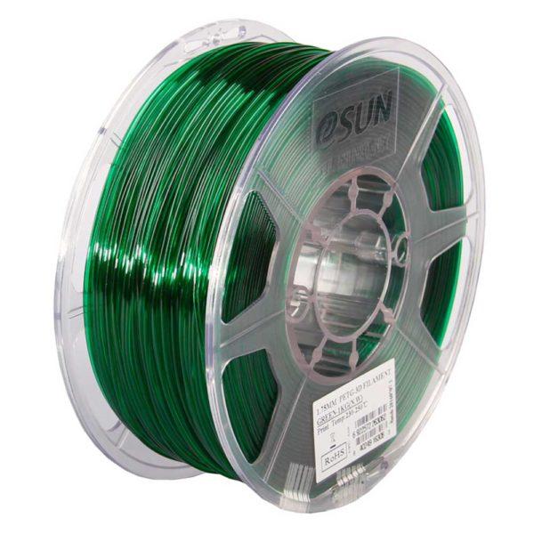 eSUN PETG Filament Grön - 3 mm - 1 kg