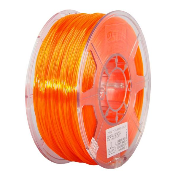 eSUN PETG Filament Orange - 3 mm - 1 kg