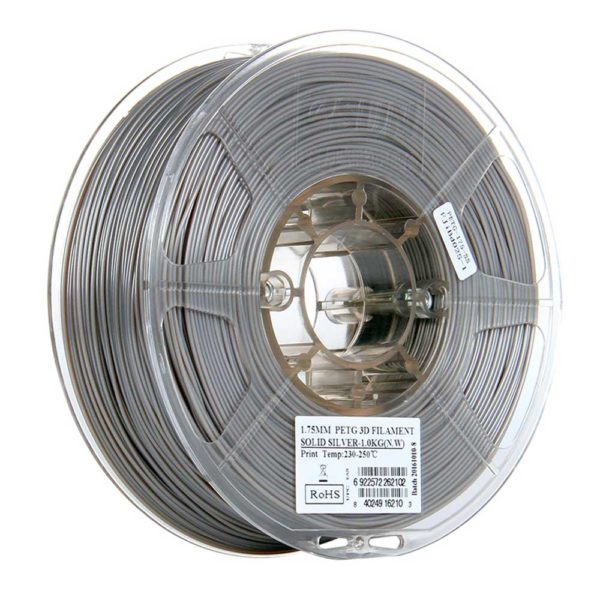 eSUN PETG Filament Solid Silver - 2,85 mm - 1 kg