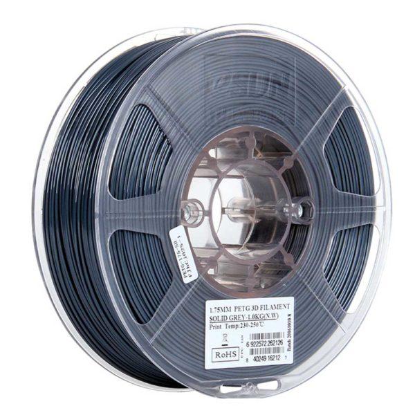 eSUN PETG Filament Solid Grå - 2,85 mm - 1 kg