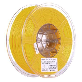 eSUN PETG Filament Solid Gul - 2,85 mm - 1 kg