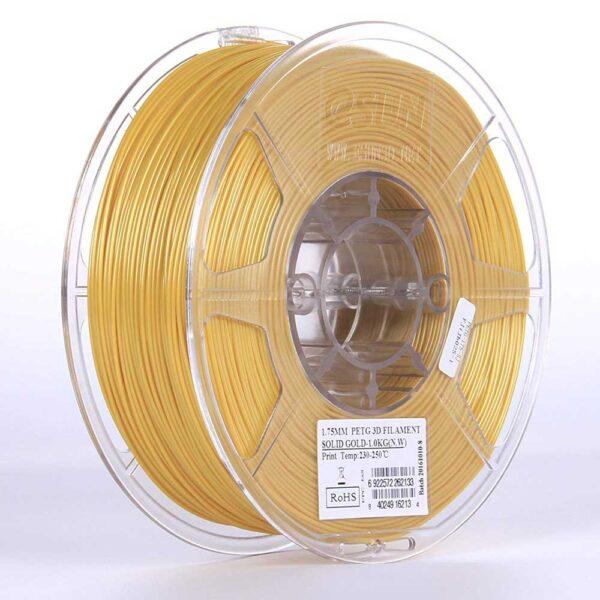 eSUN PETG Filament Solid Guldgul - 2,85 mm - 1 kg