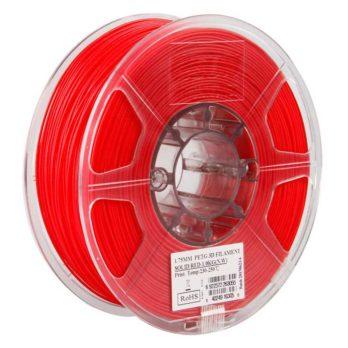 eSUN PETG Filament Solid Röd - 3 mm - 1 kg