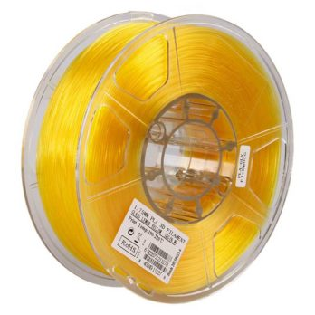 eSUN PLA Filament Gul Transparent - 3 mm - 1 kg