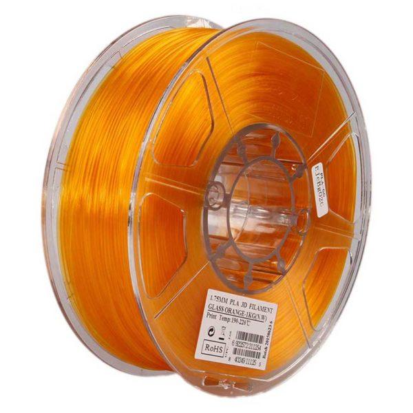 eSUN PLA Filament Orange Transparent - 3 mm - 1 kg