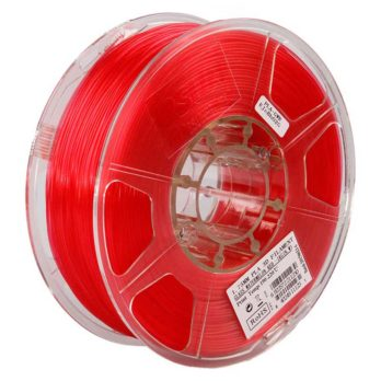 eSUN PLA Filament Röd Transparent - 3 mm - 1 kg
