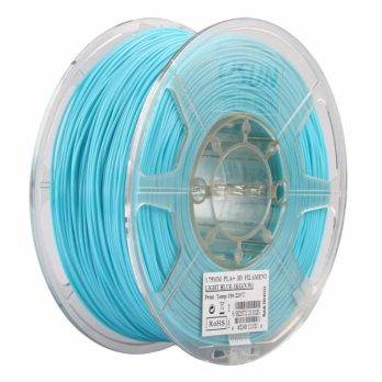 eSUN PLA+ Filament Ljusblå - 3 mm - 1 kg