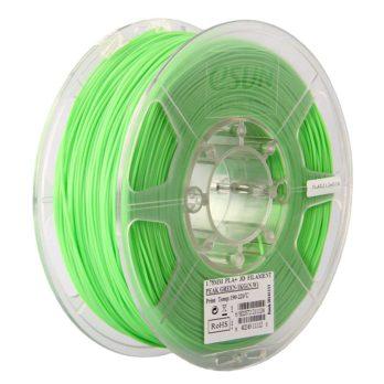 eSUN PLA+ Filament Ljusgrön - 3 mm - 1 kg