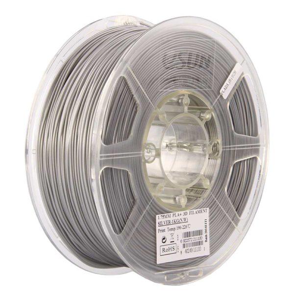 eSUN PLA+ Filament Silver - 2,85 mm - 1 kg
