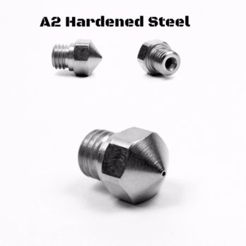Micro Swiss nozzle for MK10 All Metal Hotend Kit ONLY (Plated A2 Hardened Tool Steel) - 0,8 mm
