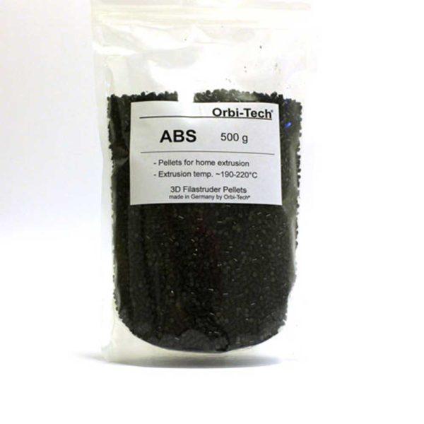 Orbi-Tech ABS Pellets Svart - 0,5 kg