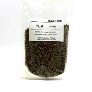 Orbi-Tech PLA Pellets Brons - 0,5 kg