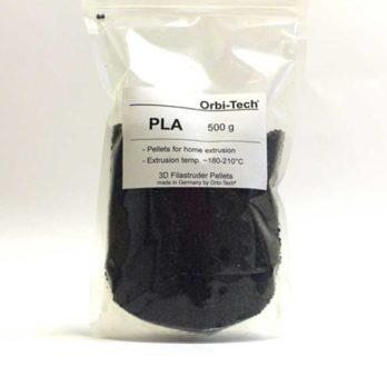 Orbi-Tech PLA Pellets Svart - 0,5 kg