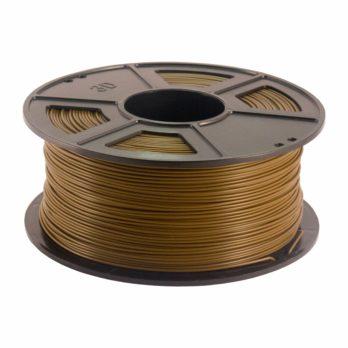 Plastech PLA Filament Brun - 3 mm - 1 kg