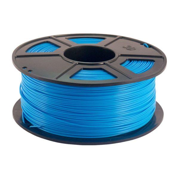 Plastech PLA Filament Ljusblå - 3 mm - 1 kg