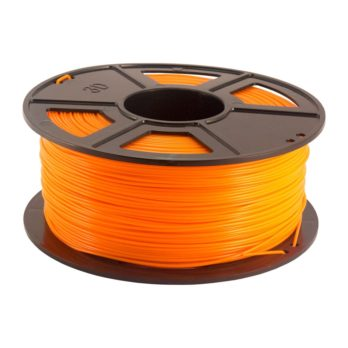 Plastech PLA Filament Orange - 3 mm - 1 kg