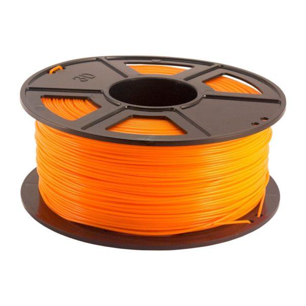 Plastech PLA Filament Orange - 3 mm - 1 kg