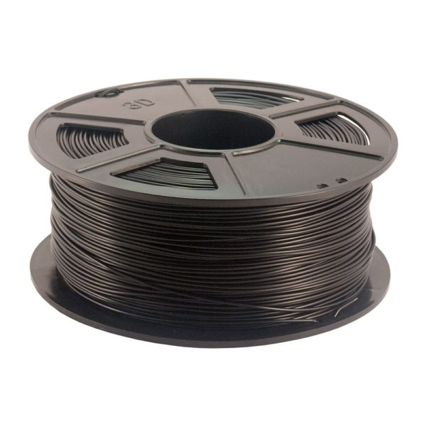 Plastech PLA Filament Svart - 2,85 mm - 1 kg