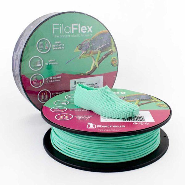 Recreus FilaFlex Filament Aquamarin - 2,85 mm - 0,25 kg