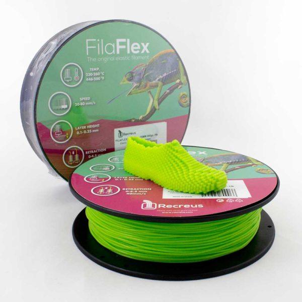 Recreus FilaFlex Filament Grön - 2,85 mm - 0,25 kg