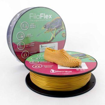 Recreus FilaFlex Filament Guld - 2,85 mm - 0,25 kg