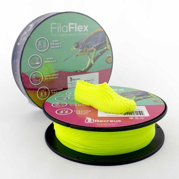 Recreus FilaFlex Filament Neongul - 2,85 mm - 0,25 kg