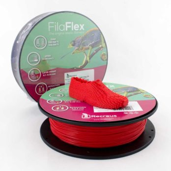 Recreus FilaFlex Filament Röd - 2,85 mm - 0,25 kg