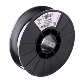 Taulman T-Glase Filament Solid Vit - 2,85 mm - 0,45 kg