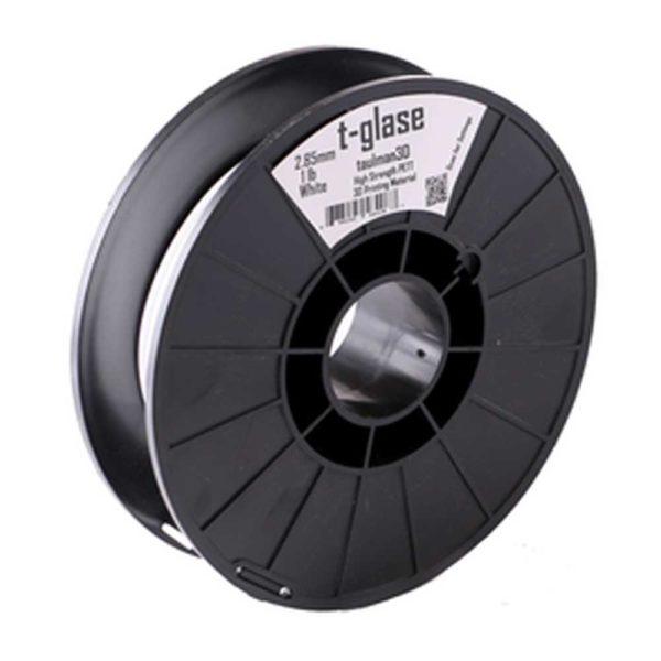 Taulman T-Glase Filament Solid Vit - 2,85 mm - 0,45 kg