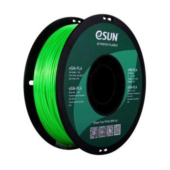 eSUN eSilk-PLA Filament Grön - 1,75 mm  - 1 kg