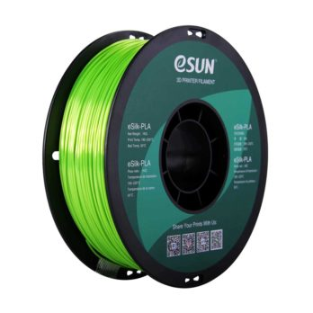 eSUN eSilk-PLA Filament Limegrön - 1,75 mm - 1kg