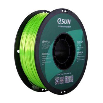eSUN eSilk-PLA Filament Limegrön - 1,75 mm - 1kg