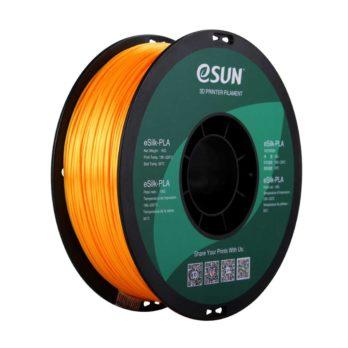 eSUN eSilk-PLA Filament Mörkgul  - 1,75 mm  - 1 kg