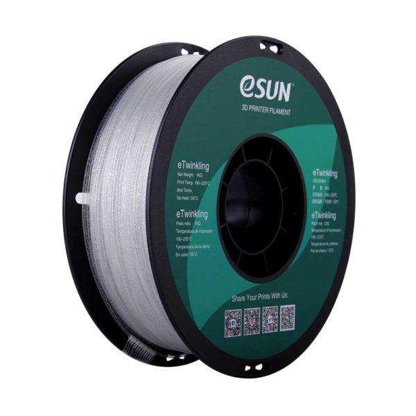 eSUN eTwinkling Filament Naturell - 1,75 mm - 1 kg