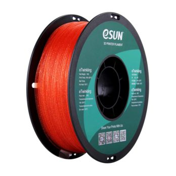 eSUN eTwinkling Filament Röd-orange - 1,75 mm - 1 kg