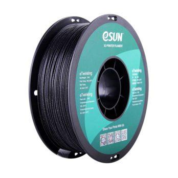 eSUN eTwinkling Filament Svart - 1,75 mm - 1 kg
