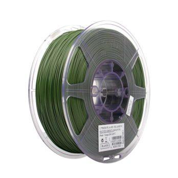 eSUN PLA+ Filament Olivgrön  - 2,85 mm  - 1 kg